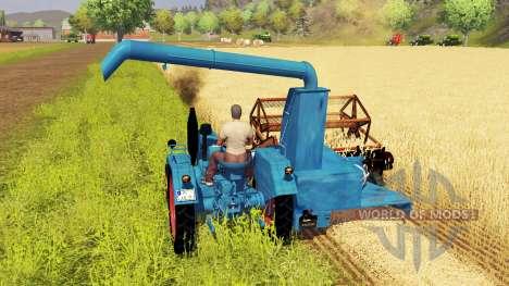 Lanz D 1705 для Farming Simulator 2013