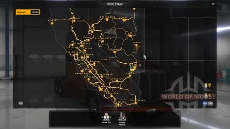 Русские названия городов для American Truck Simulator