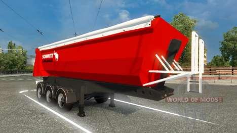 Скин Schmitz Cargobull на полуприцеп для Euro Truck Simulator 2