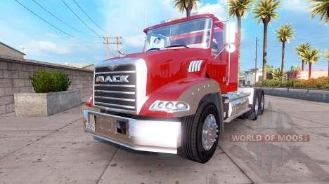 Mack Granite для American Truck Simulator