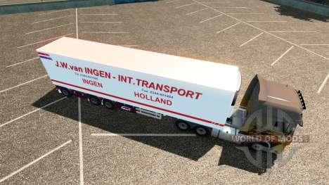 Полуприцеп J.W. van Ingen для Euro Truck Simulator 2