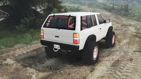 Nissan Pathfinder [25.12.15] для Spin Tires