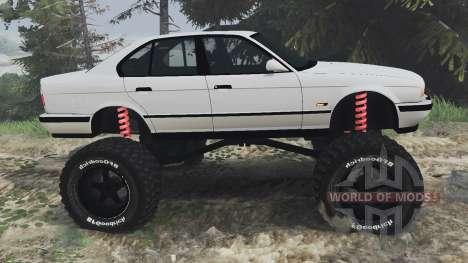 BMW M5 (E34) [bigfoot] v1.2 [16.12.15] для Spin Tires