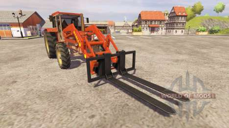 Schluter Compact 1050T v2.0 FL для Farming Simulator 2013