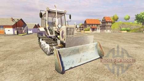 МТЗ-82 [гусеничный] v2.0 для Farming Simulator 2013