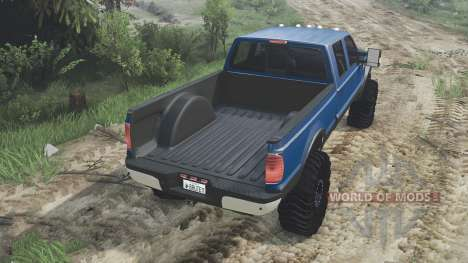 Ford F-350 2008 [08.11.15] для Spin Tires