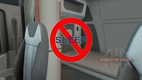 Отключение сна для American Truck Simulator