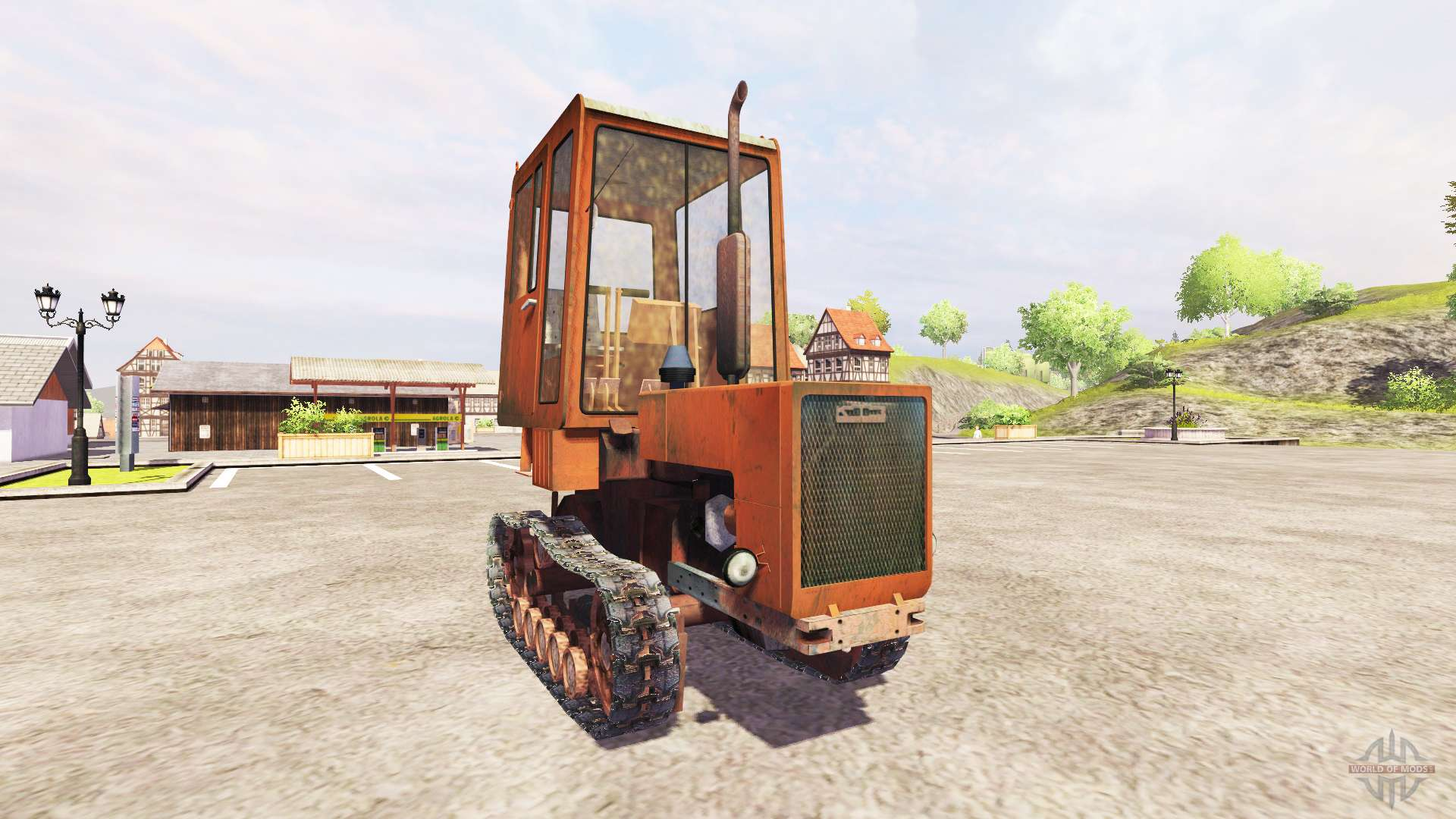 заводим трактор мтз в -30 - YouTube
