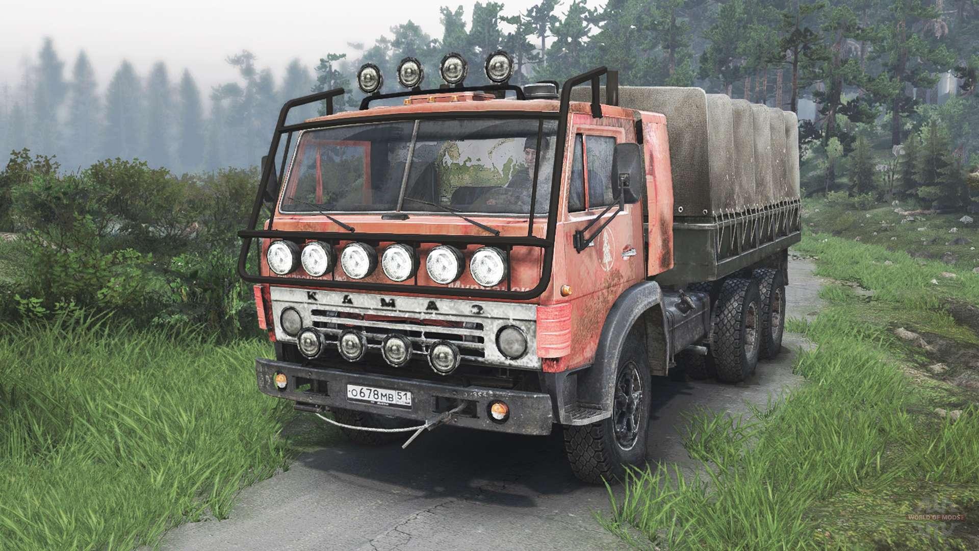 КамАЗ-53212 25.12.15 для Spin Tires