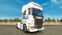 Скин Bavaria Express на тягач Scania