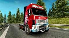 Скин FC Bayern Munchen на тягач Volvo