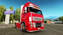 Скин Coca-Cola на тягач Volvo