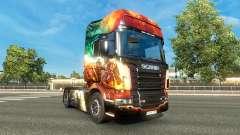 Скин Guild Wars 2 на тягач Scania