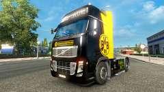 Скин BvB на тягач Volvo