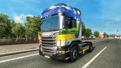 Скин Gasunie Transport на тягач Scania