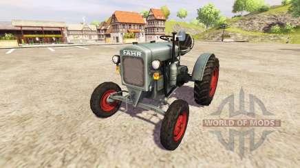 Fahr F22 v0.9 для Farming Simulator 2013