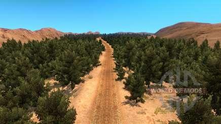 Карта бездорожья для American Truck Simulator