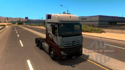 Mercedes Actros 2014 для American Truck Simulator