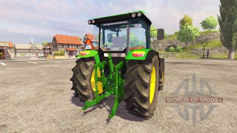 John Deere 5100R для Farming Simulator 2013