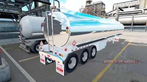 Полуприцеп хромированная цистерна Heil [3 axles] для American Truck Simulator