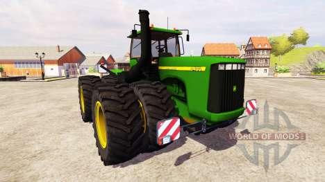 John Deere 9400 v2.0 для Farming Simulator 2013
