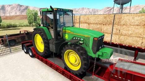 Реальные бренды на транспортируемой техники для American Truck Simulator