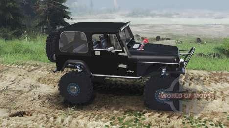 Jeep YJ 1987 [flat fender][03.03.16] для Spin Tires