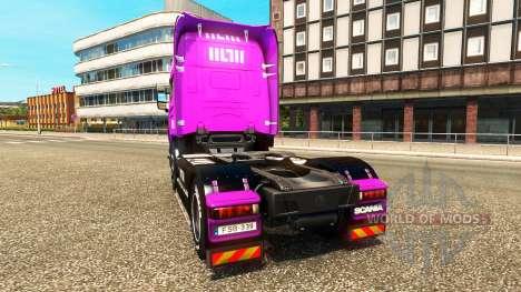 Скины Muller на тягачи MAN Scania и Volvo для Euro Truck Simulator 2