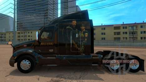 Skin Peterbilt 579 Mad Max для American Truck Simulator