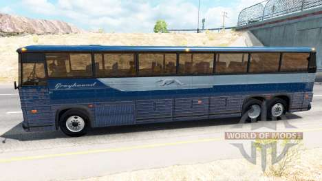Скин Greyhound на автобус для American Truck Simulator