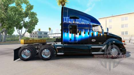 Скин San Francisco Bridge на тягач Kenworth для American Truck Simulator