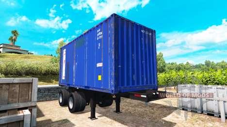 Полуприцеп контейнер для American Truck Simulator