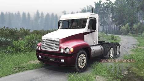 Freightliner Century Class Day Cab [25.12.15] для Spin Tires