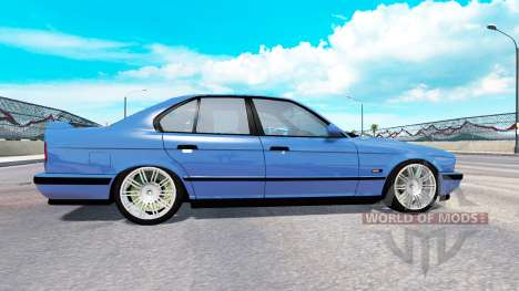 BMW M5 (E34) [traffic] для American Truck Simulator