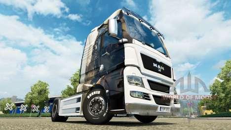 Скин Guild Wars 2 на тягач MAN для Euro Truck Simulator 2