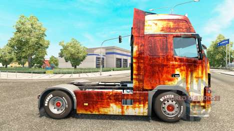 Скин Rostlaube на тягач Volvo для Euro Truck Simulator 2