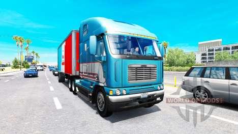 Расширенный грузовой трафик для American Truck Simulator