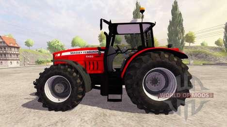 Massey Ferguson 6480 v1.0 для Farming Simulator 2013