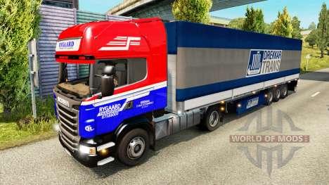 Раскраски для грузового трафика для Euro Truck Simulator 2