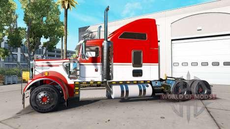 Kenworth W900 для American Truck Simulator