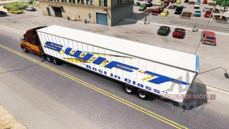 Полуприцеп Swift для American Truck Simulator