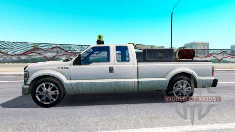Ford F-250 Service [traffic] для American Truck Simulator