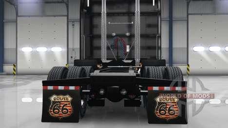 Набор HD брызговиков для American Truck Simulator