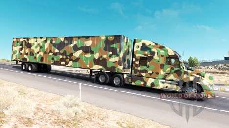Скин Army на тягач Kenworth для American Truck Simulator