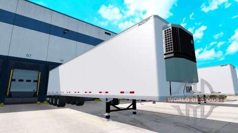 Полуприцепы цельнометаллические Great Dane v1.1 для American Truck Simulator