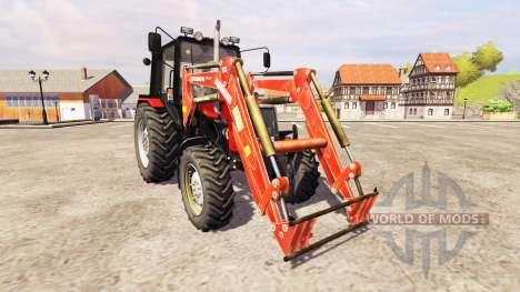 МТЗ-1025 [погрузчик] для Farming Simulator 2013