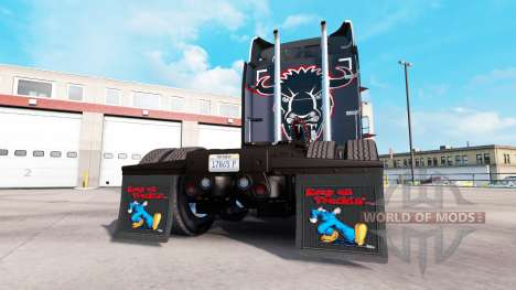 Брызговики Keep on Truckin для American Truck Simulator