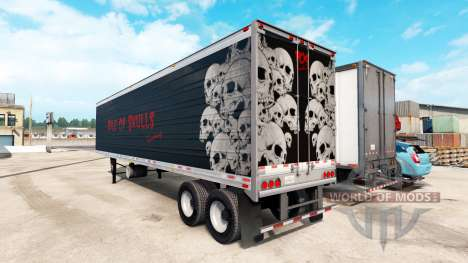 Рефрижераторный полуприцеп Pile of Skulls для American Truck Simulator