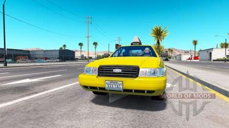 Реальные шильдики для трафика для American Truck Simulator