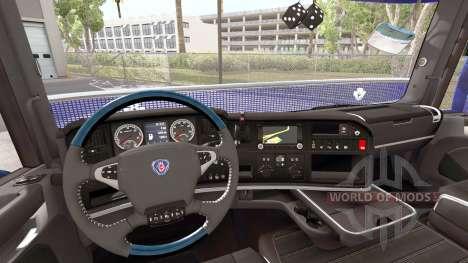 Scania R730 [long] для American Truck Simulator